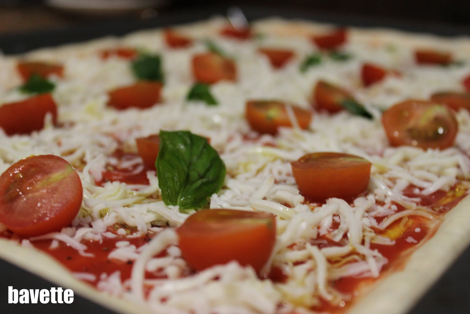 Pizza al taglio margerita
