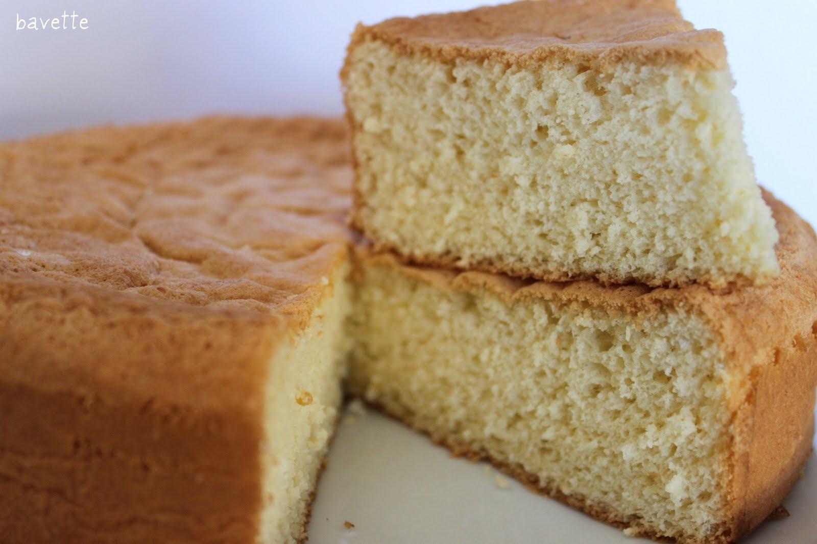 Torta pan di spagna , Bizcocho pan de españa