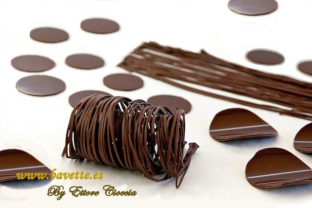 Como atemperar chocolate y elaborar decoraciones