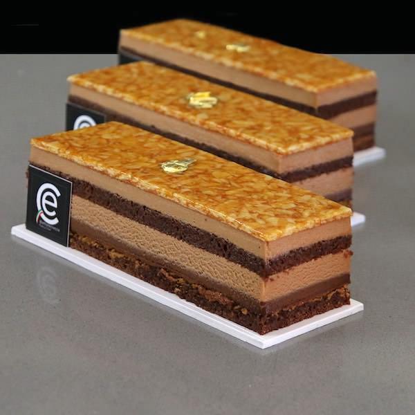 Pastel de Chocolate Avellana y Amaretto