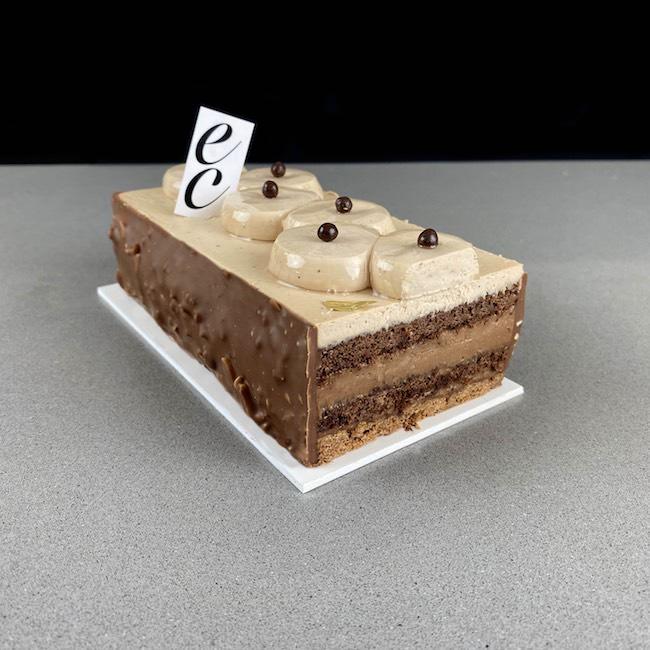 Pastel Cremoso de Café y Mascarpone