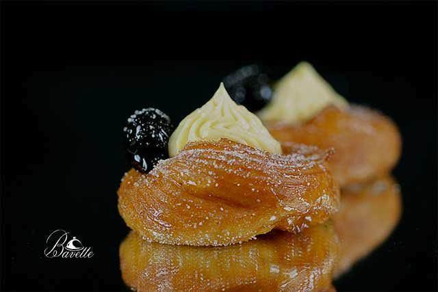 Receta Zeppole di San Giuseppe frita